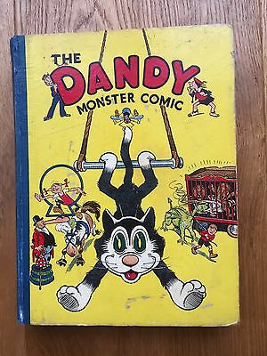 Superb 1940 Dandy Monster Comic No.2 Book Annual - Rare - Free Insured Postage