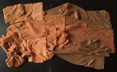 8 x Vintage Nylons Stockings Dorothy Norman Classic Makes, Stockings. Hold ups