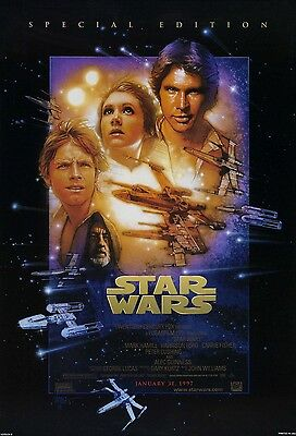 star wars trilogy special edition Original Movie Posters (lot of 3) NEW PRICE