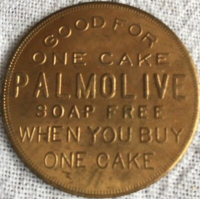 Palmolive-Peet Co. P-1009 Good For One Cake Soap When Buying One Trade Token