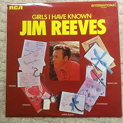 Jim Reeves Girls I Have Known LP 1973 RCA International
