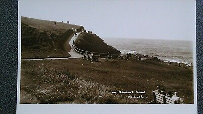Real photographic Lee card of Ramore Head, Portrush, Co Antrim
