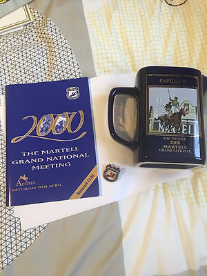 2000 Grand National Race Card Entry Pin and Jug