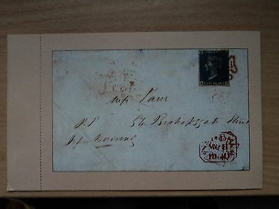 GB 1987 Postcard for CAPEX 87 Two Pence Blue Cover 8 May 1840, from Stamp World