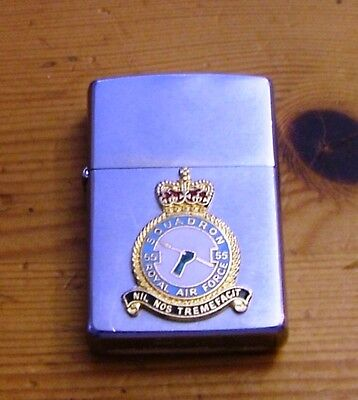 1991 Operation Granby / Gulf War Royal Air Force 55 Squadron Zippo Lighter