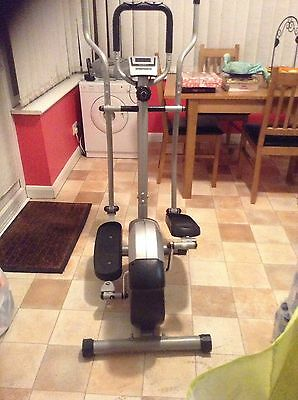 Marcy Motion Elliptical Cross Trainer, Gym Machine, Home Fitness