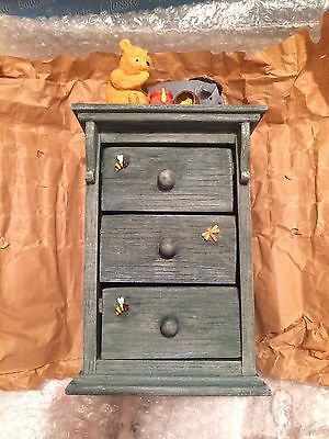 Classic Pooh Border Fine Arts chest Of Drawers