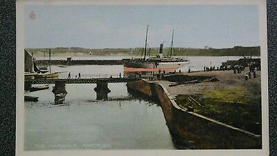 Reliable card 754/217 steamer in harbour, Portrush, Co Antrim