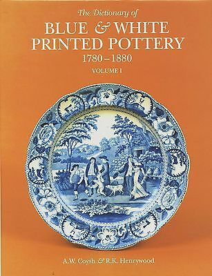 Blue White Printed Pottery (1780-1880) 700+ Photos - Makers Patterns / NEW Book