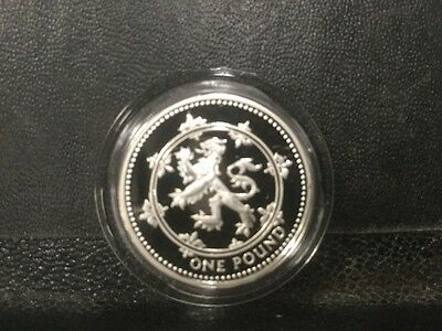 1994 Frosty Silver Proof Great Britain 1 Pound