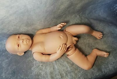 Sold out Reborn Baby doll Jaylin Full Body with boy Torso. soft Spot