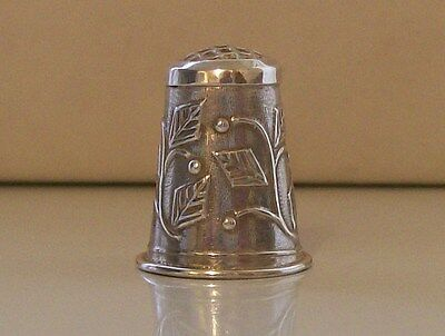 Lovely 925 Sterling Silver Thimble with Various Hallmarks