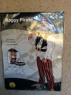 fancy dress, boys pirate set, 7-8 years, new in packaging, ideal New Years party