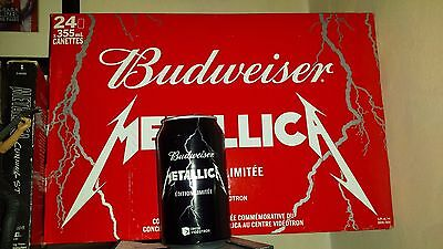 METALLICA Quebec Bud Budweiser CAN ONLY Great shape