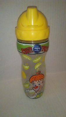 *ULTRA RARE* Ringling Bros Circus Lemon Squeeze Cup w/Lid in Excellent Condition