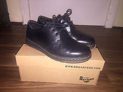 Size 7 Dr Martens Cavendish SoftWair Lite Shoes Black (Worn Once)