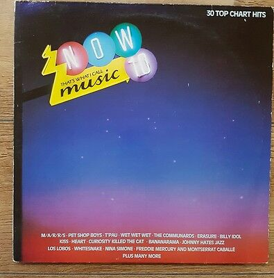 Now That's What I Call Music 10 - Double Vinyl LP - Compilation 1987