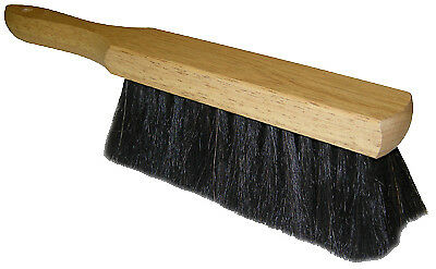 QUICKIE MFG Bench Brush, Horsehair & Wood, 13.5-In.