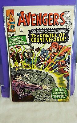 The Avengers 13 Marvel silver Age classic