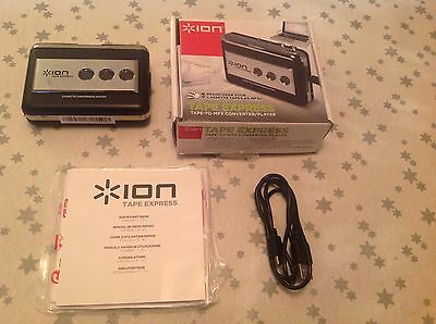ION tape Express Tape-to-MP3 Converter/Player