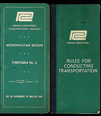 PC Metropolitan Region Timetable No.2 and Rules for conducting Transportation