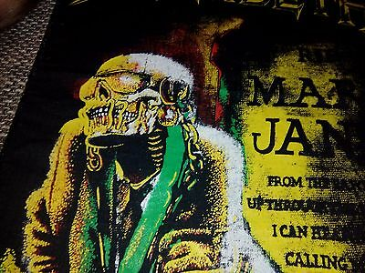 Megadeth 1989. Back patch Mary Jane printed