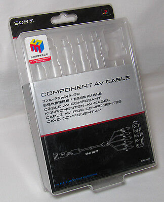 Sony PlayStation SCPH-10490 component cable BOX ONLY. NO CABLES.