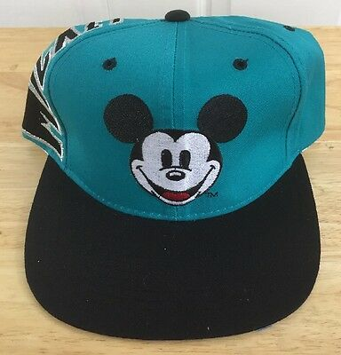 Mickey Mouse Disney  Vintage 90's Children's Hat New SnapBack