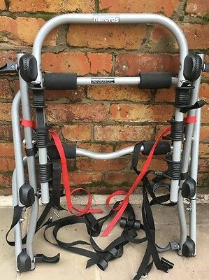 High Mount - 3 Bike Carrier , A Halfords Cycle Rack