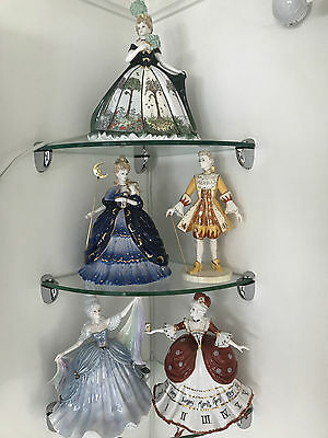 coalport millennium ball the full collection all 5 figurines