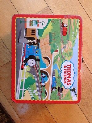 Thomas and Friends metal lunch box  COOL WOW FREE SHIPPING