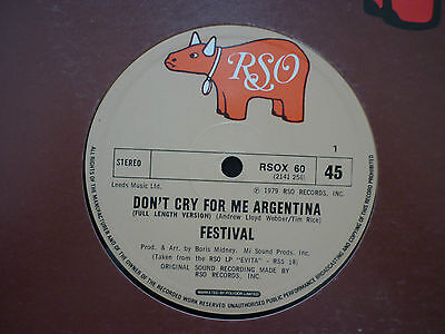Festival-Dont Cry For Me Argentina / Buenos Aires