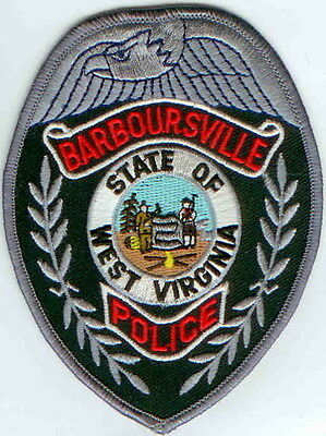 Barboursville Police Patch West Virginia WV NEW!!