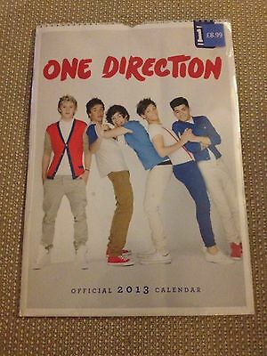 One Direction Official 2013 Calendar New