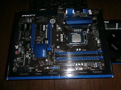 MSI Guard Pro Motherboard and G3258 Processor