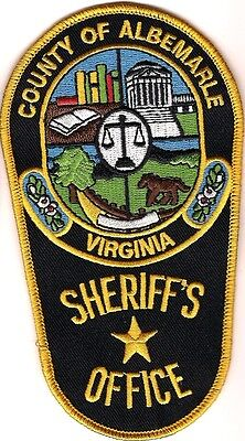 Albemarle County Sheriffs Office Police Patch Virginia VA NEW !!!
