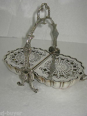 Antique Silver Vintage Biscuiteer Muffin Dish James Dixon Biscuit Barrel C1895
