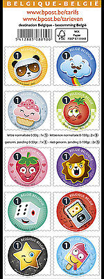 BELGIUM 2015, Emoticons, SHEET MNH(fr)