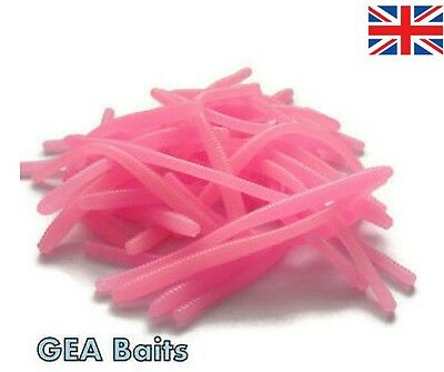 New Lot 27 Pcs Trout Worm Earthworm Sea Fishing Soft Lures Tackle Baits 8cm