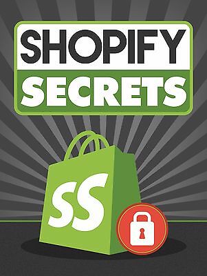 Shopify Secrets Free Shipping ebook Full Resell Right PDF