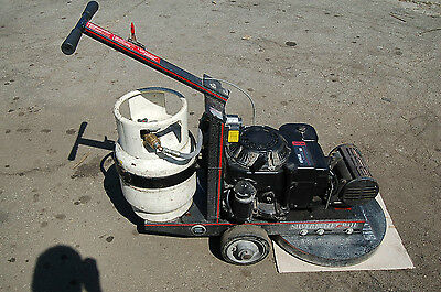 Silver Bullet 21 Propane Floor Buffer Finishing Burnisher 14HP kohler  GUAR!