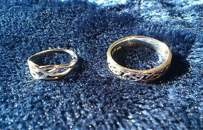 Silver Celtic Style Rings