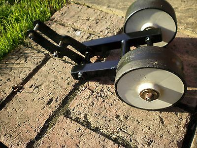 GOLF TROLLEY SPARE PARTS … Front Wheel including Carrier for HillBilly All Terra