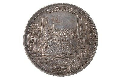 1/2 Taler 1743 - Zurich City