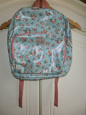 Cath Kids Girl's Blue and Pink Floral Backpack