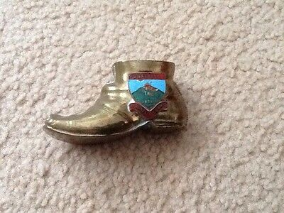 Vintage Solid Brass Boot / Shoe /snaefell
