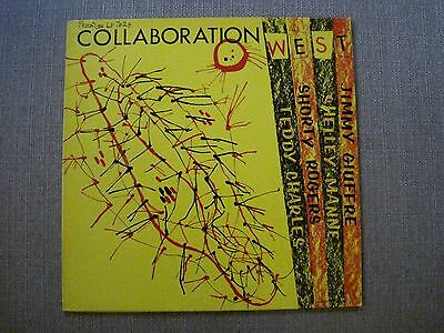 Teddy Charles / Shorty Rogers – Collaboration West LP EX-