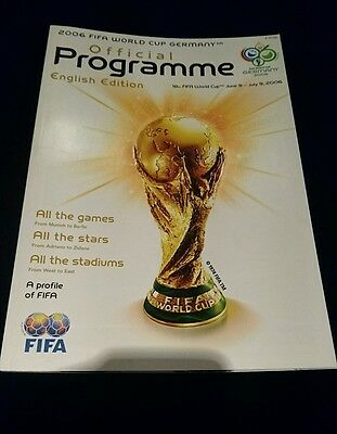 2006 Germany World cup tournament programme English edition