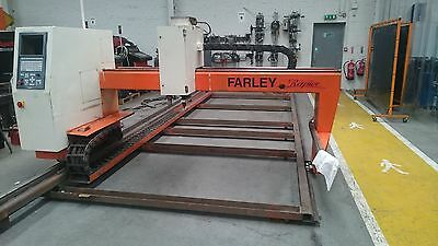 Farley Rapier Cnc Plasma Cutting Machine Ht2000 With Hypro 2000 Torch Fitted