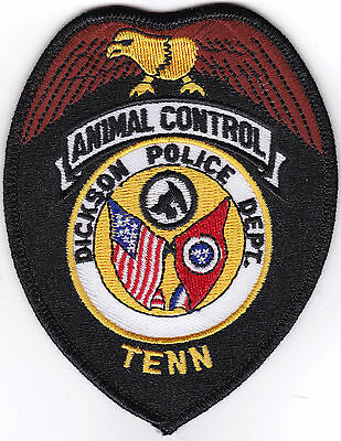 Dickson Police Department Animal Control Police Patch Tennessee TN NEW!!